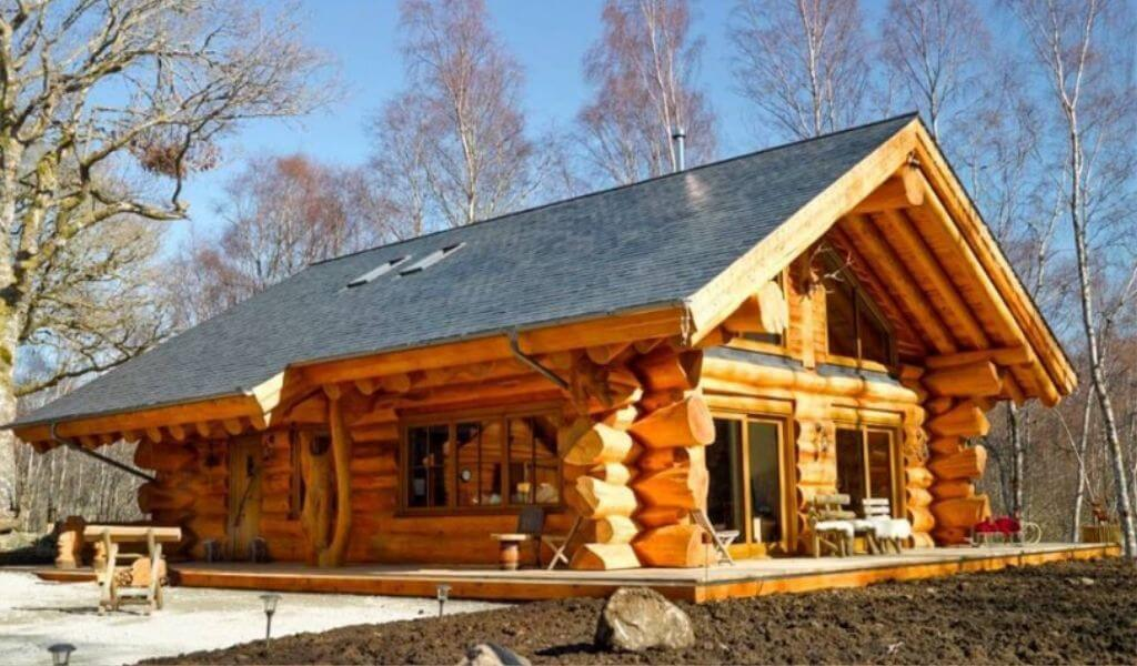 Caledonian Cabin and Hot Tub