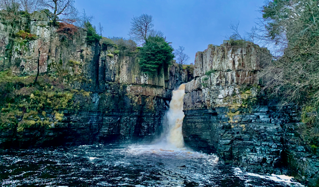 High Force Waterfall, Forest-in-Teesdale, The Pennines