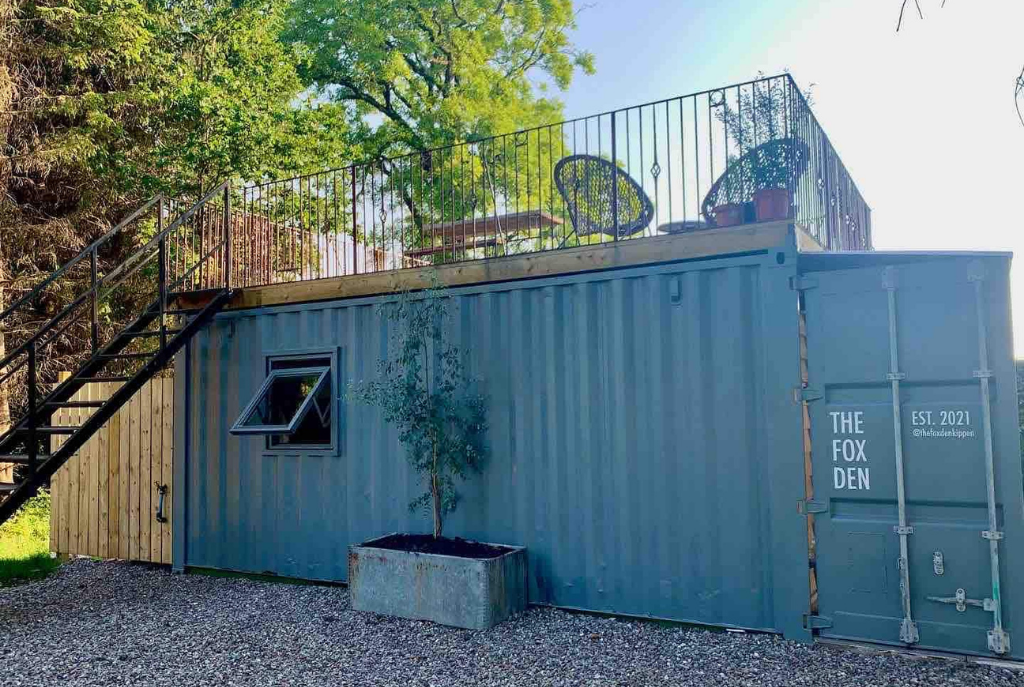 The Fox Den Shipping Container, Stirlingshire